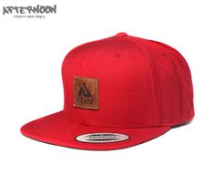 Sapca Snapback Nerv Digger // Red – Afternoon.ro - urban boutique