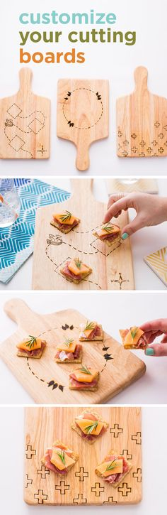 Design your perfect party platter with this DIY kit from Brit+Co. Don't forget to top it with your favorite Triscuit combination. (Party Top Diy)