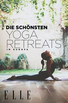 These are the most beautiful yoga retreats in Europe These are the . These are the most beautiful yoga retreats in Europe These are the most beauti Yin Yoga, Sanftes Yoga, Ashtanga Yoga, Yoga Meditation, Yoga Flow, Iyengar Yoga, Vinyasa Yoga, Yoga Routine, Yoga Fitness