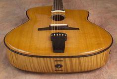Jesselli custom guitar model Oval Hole Acoustic guitar