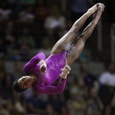Gabby Douglas's Gymnastics Routines   Video