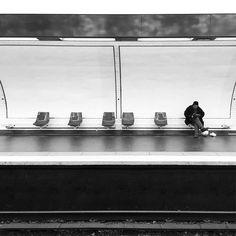#subway #paris #bw