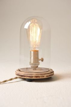 ORIGINAL BELL JAR TABLE LAMP by Southern Light