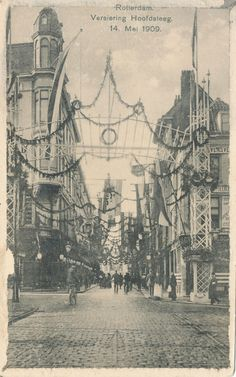 Hoofdsteeg, 1909