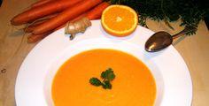 Möhren-Ingwer-Suppe - Rezept-Tipp - Die Variante mit Möhren und Ingwer ist für den Herbst und Winter besonders pfiffig.