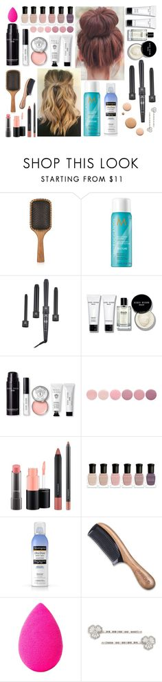 """Summer Beauty"" by sew-inspired ❤ liked on Polyvore featuring beauty, Aveda, Moroccanoil, Brilliance New York, Bobbi Brown Cosmetics, Deborah Lippmann, MAC Cosmetics, Neutrogena, Aroma and CC"