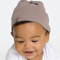 American Apparel Organic Infant Baby Rib Hat for $4.61! You can't beat it.