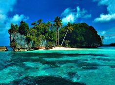 I'd love to be stranded on this island.