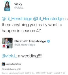 Omg! A FitzSimmons wedding! That would be awesome!!!