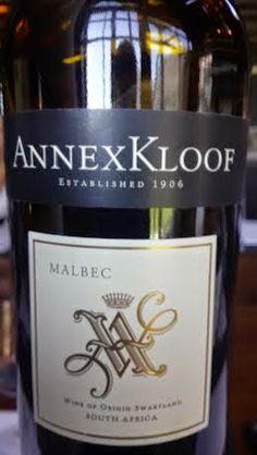 Miguel Chan: Annexkloof Swartland Malbec 2012 59 Points