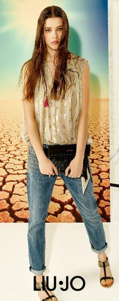 Trend alert: Desert! #liujo #SS15