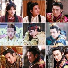 Many faces in Empress Ki. Ji Chang Wook, Joo Jin Mo, Ha Ji Won, Love K, Kdrama Actors, Korean Star, Many Faces, Drama Series, Celebrities