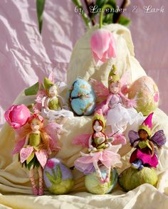 Dahlia Waldorf inspired fairy doll by Phoebecapelle on Etsy