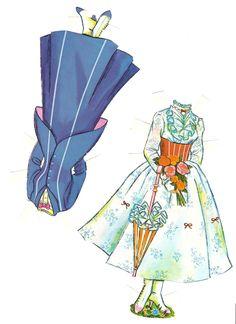 Miss Missy Paper Dolls: Mary Popppins Paper Doll Craft, Doll Crafts, Paper Crafts, Arts And Crafts, Vintage Paper Dolls, Antique Dolls, Disney Paper Dolls, Novi Stars, Missing Missy
