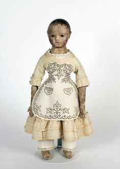 79.9925: doll | Dolls from the Nineteenth Century | Dolls | National Museum of Play Online Collections | The Strong