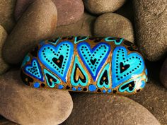 Golden Glow of Love / Painted Rock / Sandi Pike by LoveFromCapeCod