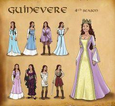 BBC Merlin - Gwen's Series 4 Costumes