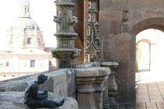 Explorando Salamanca con las #FigurasEnBronce