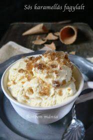 Bonbon mánia: Sós karamella fagylalt kávé granitával