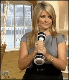 Tags: holly-willoughby holding shake-weight not-happy disapproving Funny Cute, The Funny, Hilarious, Twisted Humor, Adult Humor, Funny Posts, I Laughed, Dumb And Dumber, Laughter