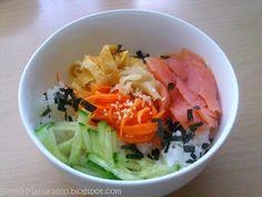 """Bento-Mania.....verrückt nach der japanischen Lunch Box: Rezept: Chirashi-Sushi (""""Streu-Sushi"""" in einer Schale)"""