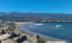 Santa Barbara harbour!