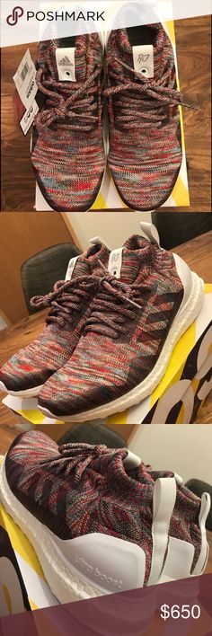 LIMITED Adidas Ultra Boost Mid Kith Men Size 6 LIMITED EDITION Selling a pair of AUTHENTIC Adidas Ultra Boost Mid Kith Size 6 in Men, which is about size 7.5-8 in Women's Size. Brand new dead stock. These are special collaboration between Adidas and Kith, RARE shoe. PM me for more information or make me a special offer.  comes with original tags and box. Adidas Shoes Sneakers