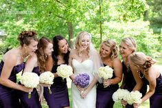 DIY Hydrangea Bouquets Kelli & Daniel | Grace Episcopal Church Wedding » Carley Rehberg Photography
