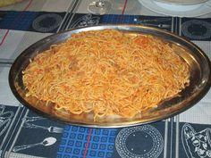 """Raccontare un paese: le mie ricette: spaghettoni con sugo """"alla povera""""..."""
