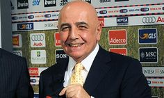 Adriano Galliani is an Italian entrepreneur who has been serving as vice-president and C.E.O. of Italian football club Associazione Calcio Milan since 1986.    During his tenure as CEO, Milan have won five European Cup/UEFA Champions League titles and eight Serie A titles among other achievements and in the process have seen their players win six Ballon d'Or awards....http://www.acmilanextra.com/first-team/