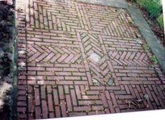 brick rug-detail
