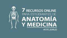7 páginas educativas para estudiantes de Medicina y Anatomía - Oye Juanjo!