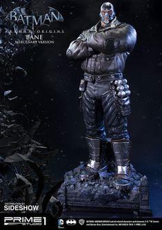 Bane Mercenary Version Statue - Arkham Origins Prime 1   Sideshow Collectibles
