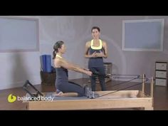 Pilates Instructors : E50 : Seated Rowing Variation with the Purple Ball - YouTube