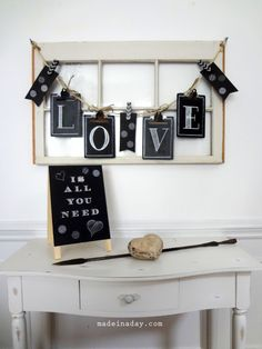 Chalkboard Clipboard Banner & Sign at the Michaels Pinterest Party - Made in a Day #mpinterestparty