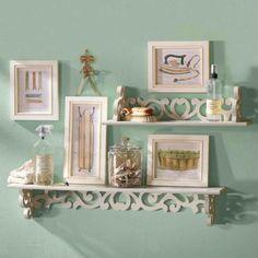 Love the shelves (not so much decor)