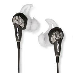 Earphones : Bose QuietComfort 20i Acoustic Noise Cancelling Headphones #tech
