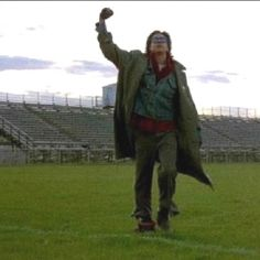 Judd Nelson at the end of Breakfast Club....Classic!