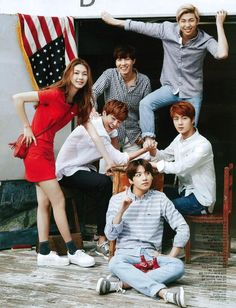 BTS on Ceci May 2015