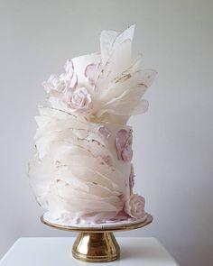 Cake Decorating Techniques, Cake Decorating Tips, Beautiful Cakes, Amazing Cakes, Wedding Sheet Cakes, Sheet Cake Designs, Elegant Birthday Cakes, Modern Cakes, Little Cakes