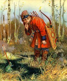 Russian fairy tales De kikkerprinses