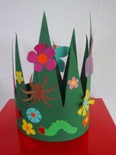 Origami is a great effort to make use of your free time or even produce important gifts of spiritual value. Mothers Day Crafts For Kids, Kids Crafts, Arts And Crafts, Paper Crafts, Origami Turtle, Crown For Kids, Funky Hats, Kids Origami, Spring Hats