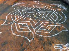 Latest Rangoli, Kolam Rangoli, Rangoli Designs, Chalk Art