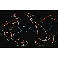 Giant Silhouette Animated or Static Skating Penguin Couple Outdoor Christmas Light Displays, Christmas Lights, Outdoor Lighting, Penguins, Bulb, Animation, Couples, Christmas Fairy Lights, Exterior Lighting