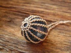 Lapis Necklace ~ Pendant ~ Lapis Lazuli ~ Sphere Ball Orb