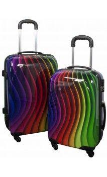 Maleta COLORS tamaño  cabina y mediana en http://maletasoriginales.com/maletas-baratas/614-maleta-cabina-colors.html