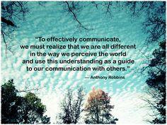 Key to good communication