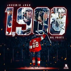 What a way to spend your 45th birthday. Congratulations to Jaromír Jágr on hitting the big 1,900! | The Florida Panthers