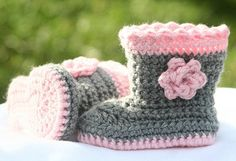 Crochet Baby Boots - I can recreate this item!ii