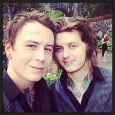 Asking Alexandria Ben and James